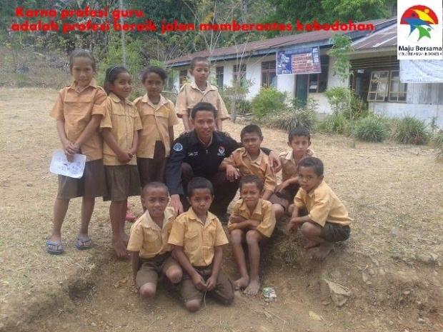 Dok: Foto Mas Adit pendidik program SM3T 2014-2015