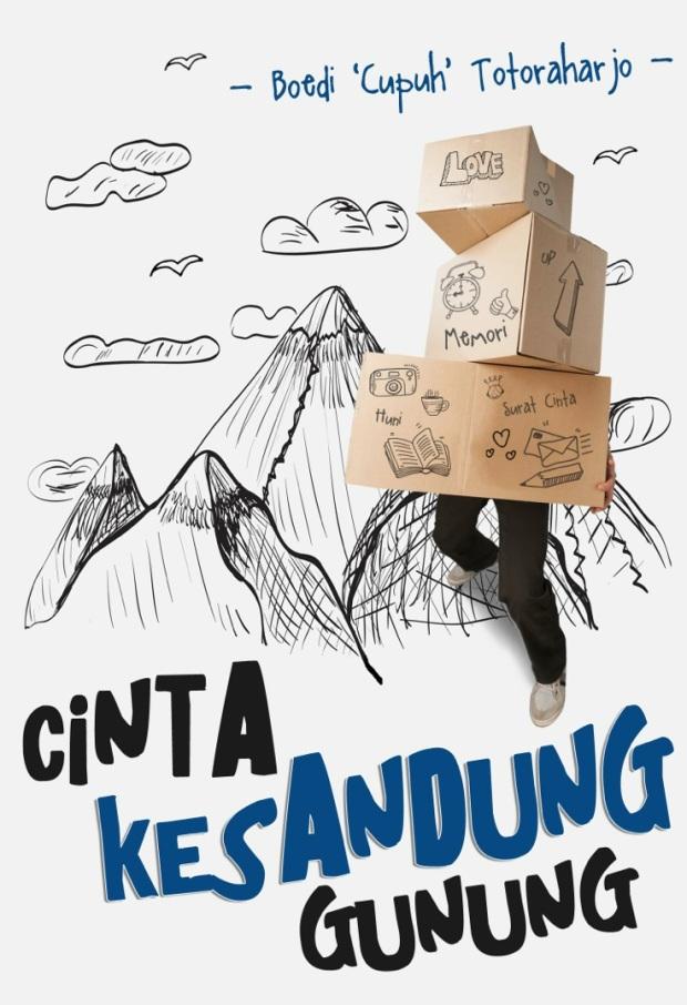 #CoverDepan #CKG #Tagar #CintaKesandungGunung